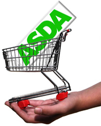 Logo asda trolleyed